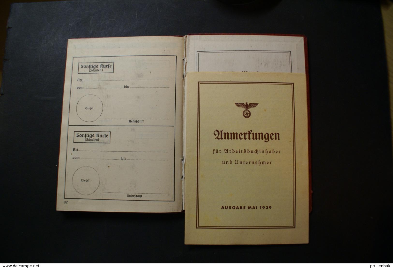 WW2 - DIE DEUTSCHE ARBEITSFRONT - Documents