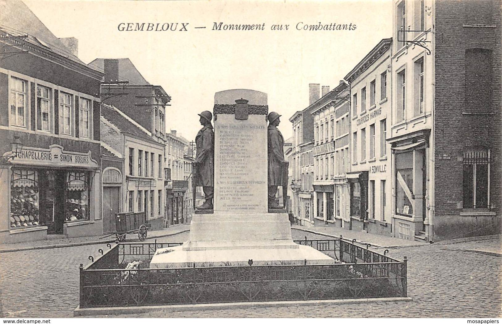 Gembloux - Monument Aux Combattants - Gembloux