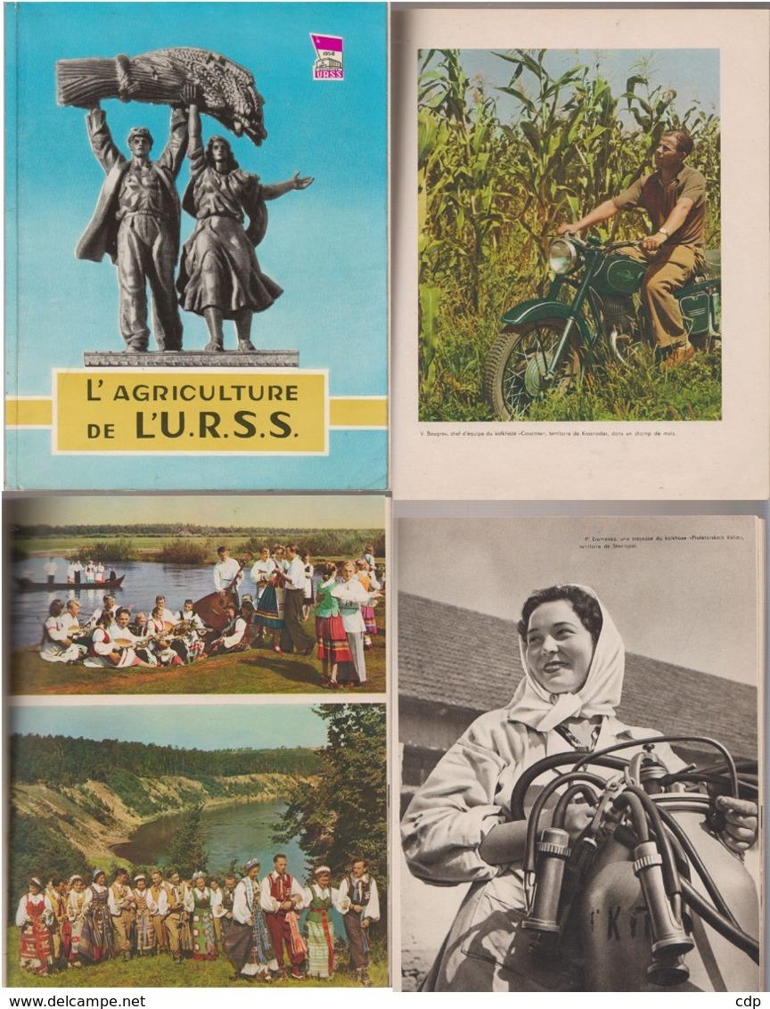 Exposition Bruxelles   1958  Russie - Programmes