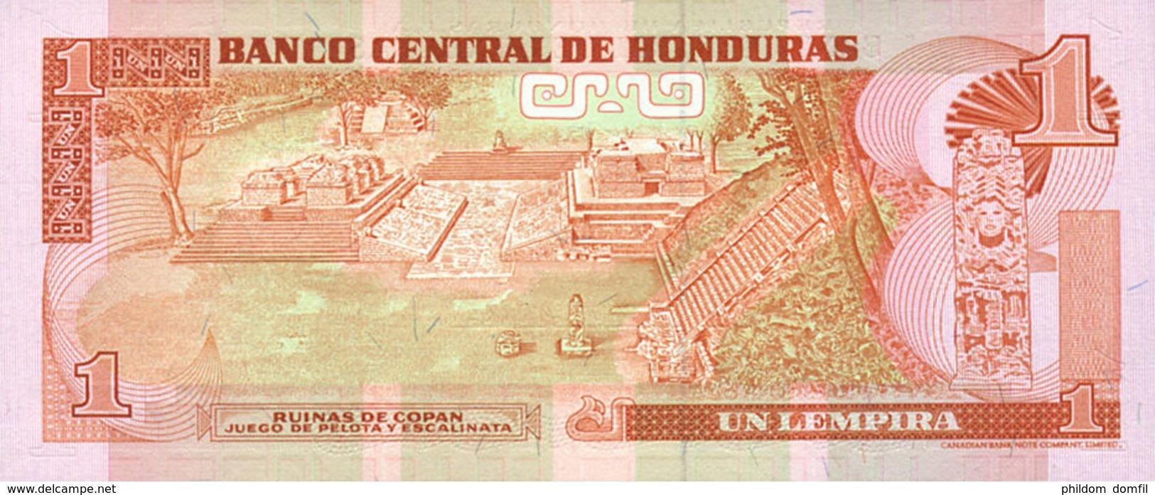 Ref. 535-931 - BIN HONDURAS . 1992. 1 LEMPEIRA HONDURAS 1992. 1 LEMPEIRA HONDURAS 1992 - Honduras