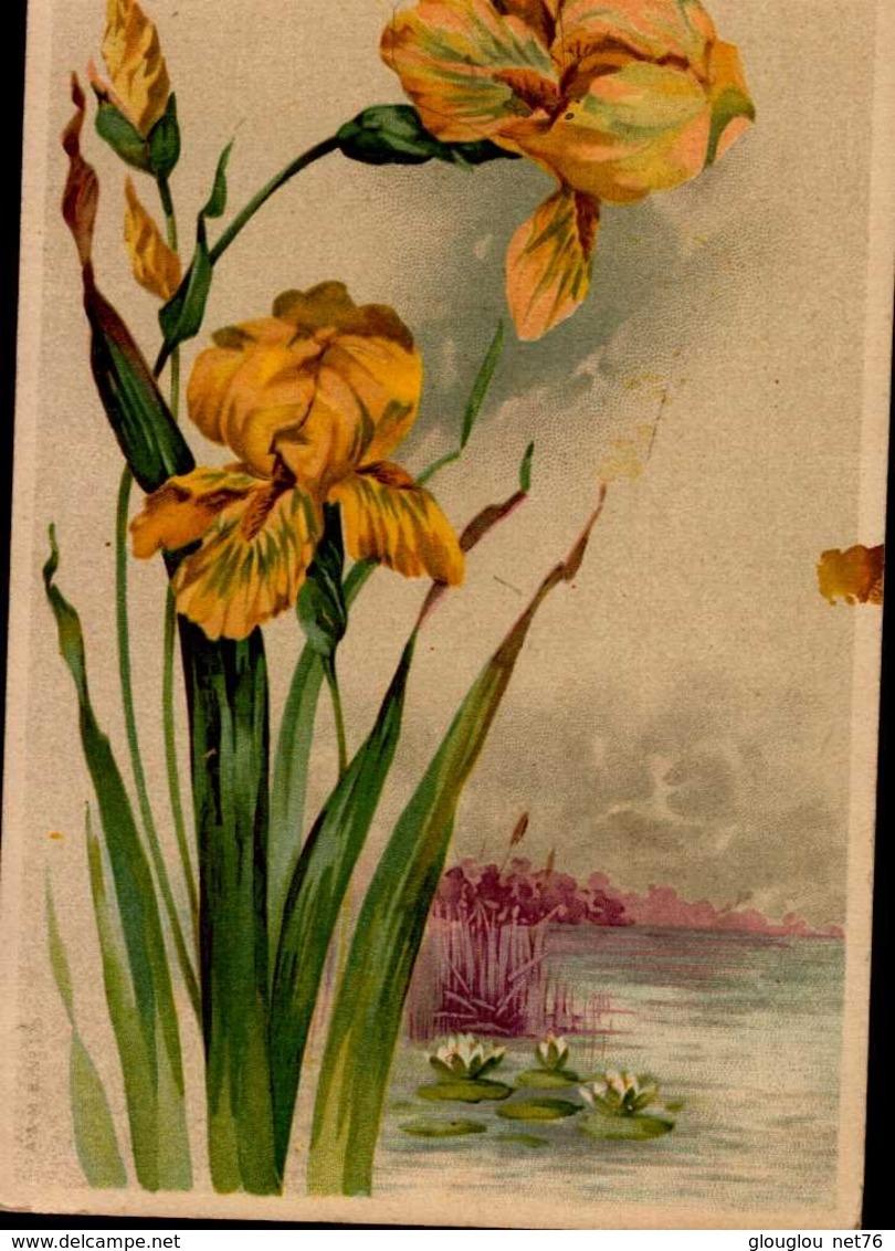 CPA AVEC FLEURS - Fleurs