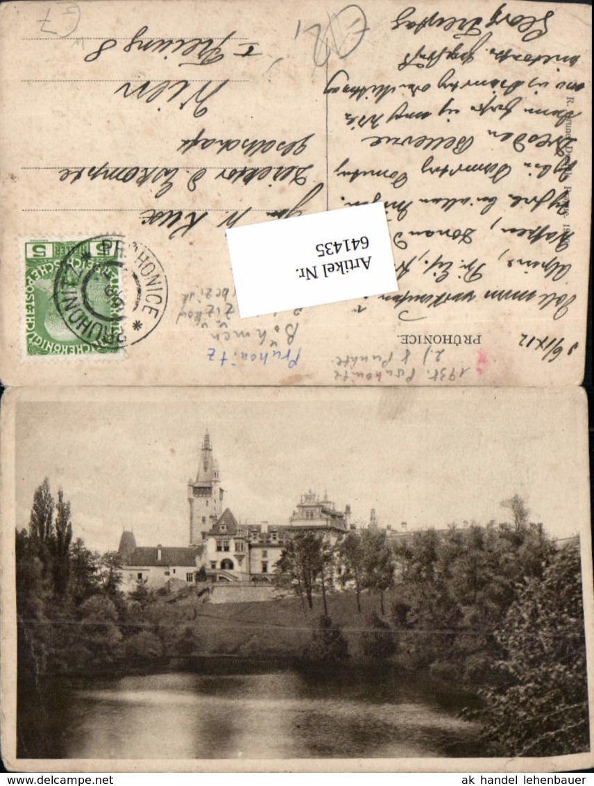 641435,Pruhonice Pruhonitz Böhmen Prag Praha West Praha-zapad - Ansichtskarten