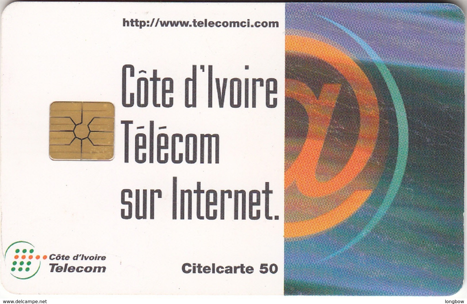IVORY COST-N.26 Telecom Sur Internet - Costa D'Avorio