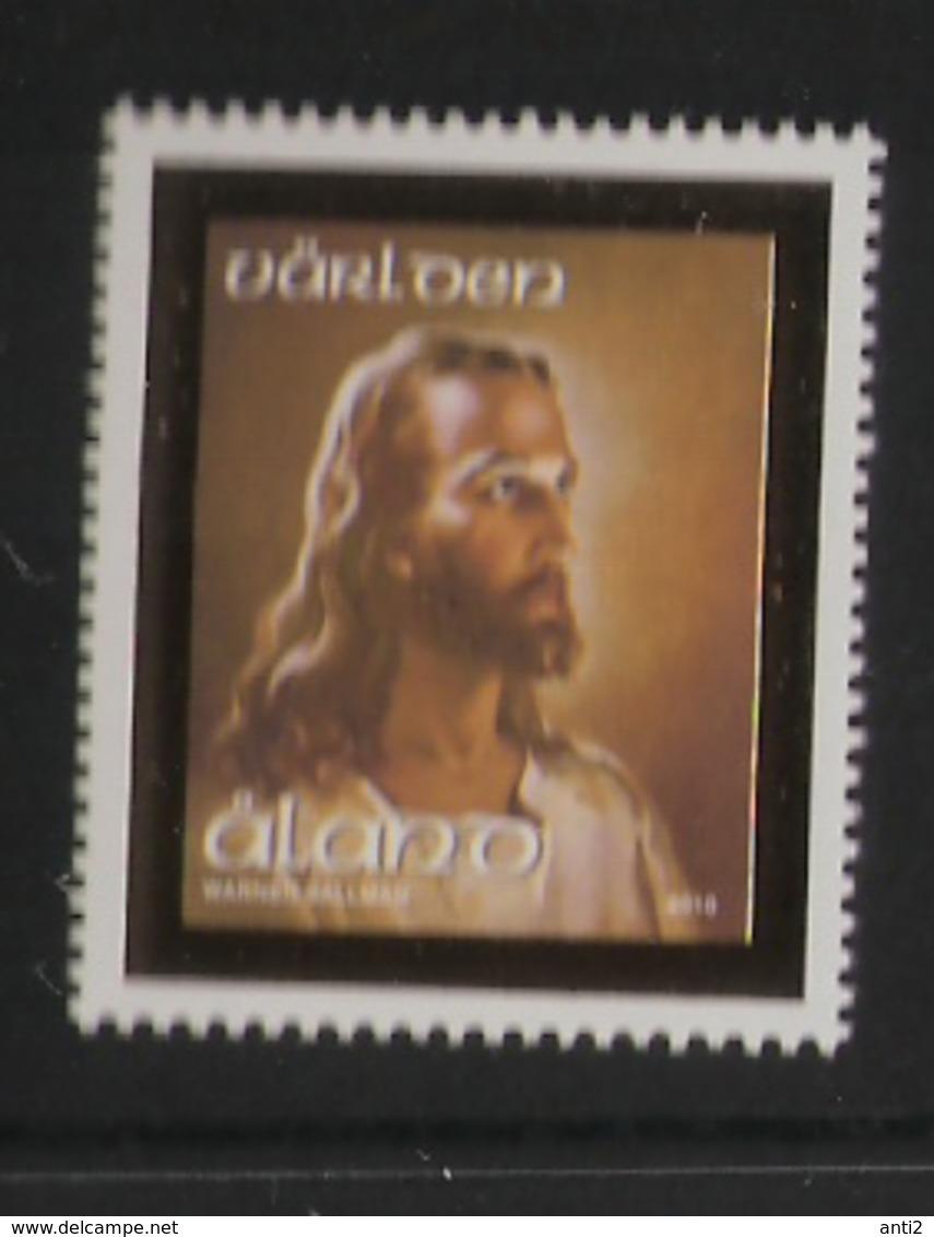 Aland 2010  The Head Of Christ; Painting By Warner Sallman (1892-1968), American Painter Mi  322 MNH(**) - Aland