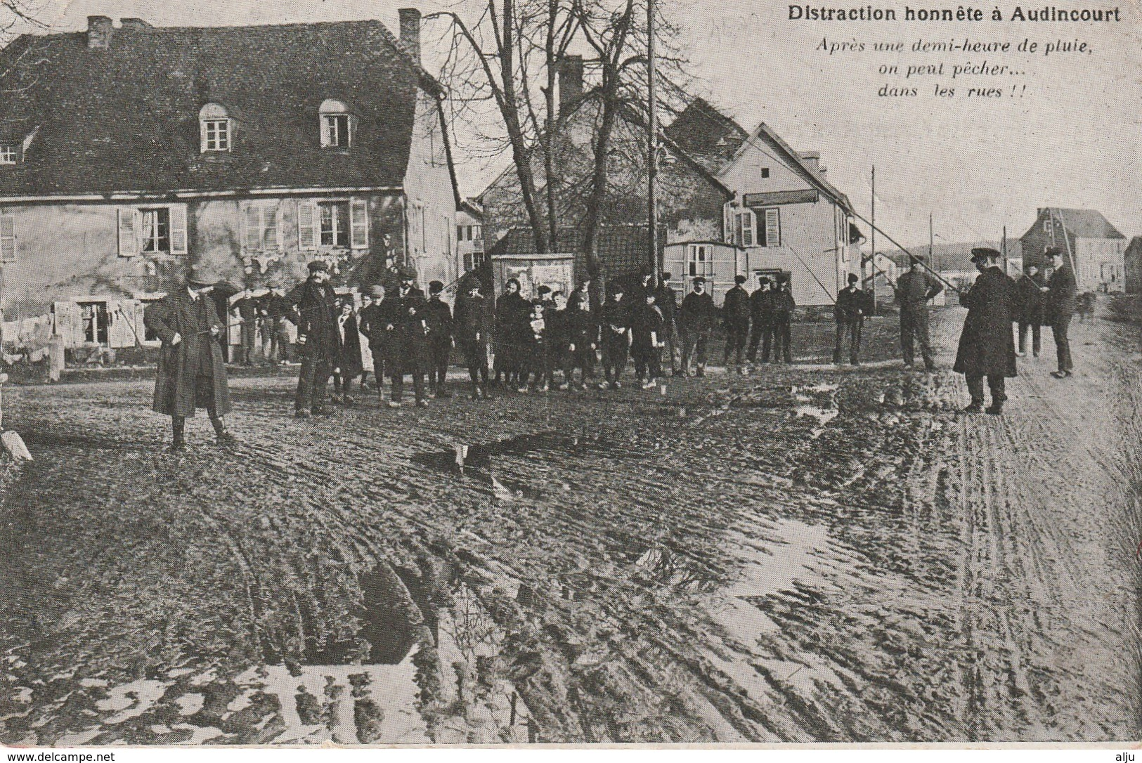 AUDINCOURT  Doubs) Distraction Honnête - Other Municipalities