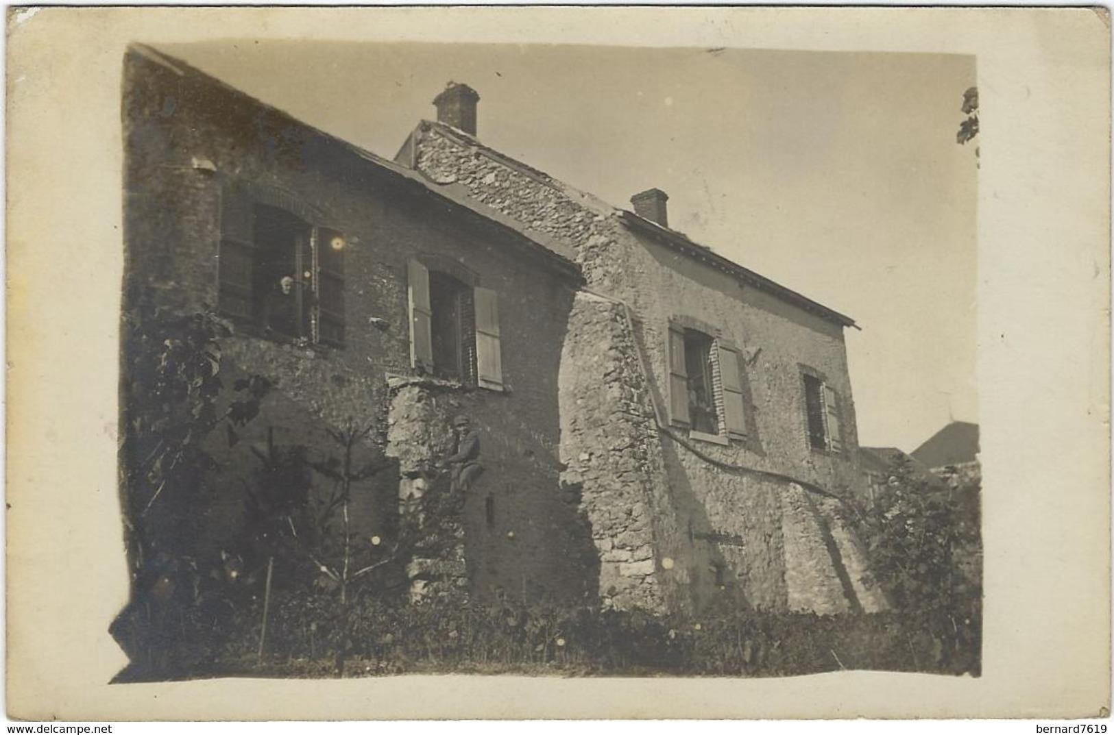73  Albertville   Carte Photo  Centre De Secours  1917 - Albertville