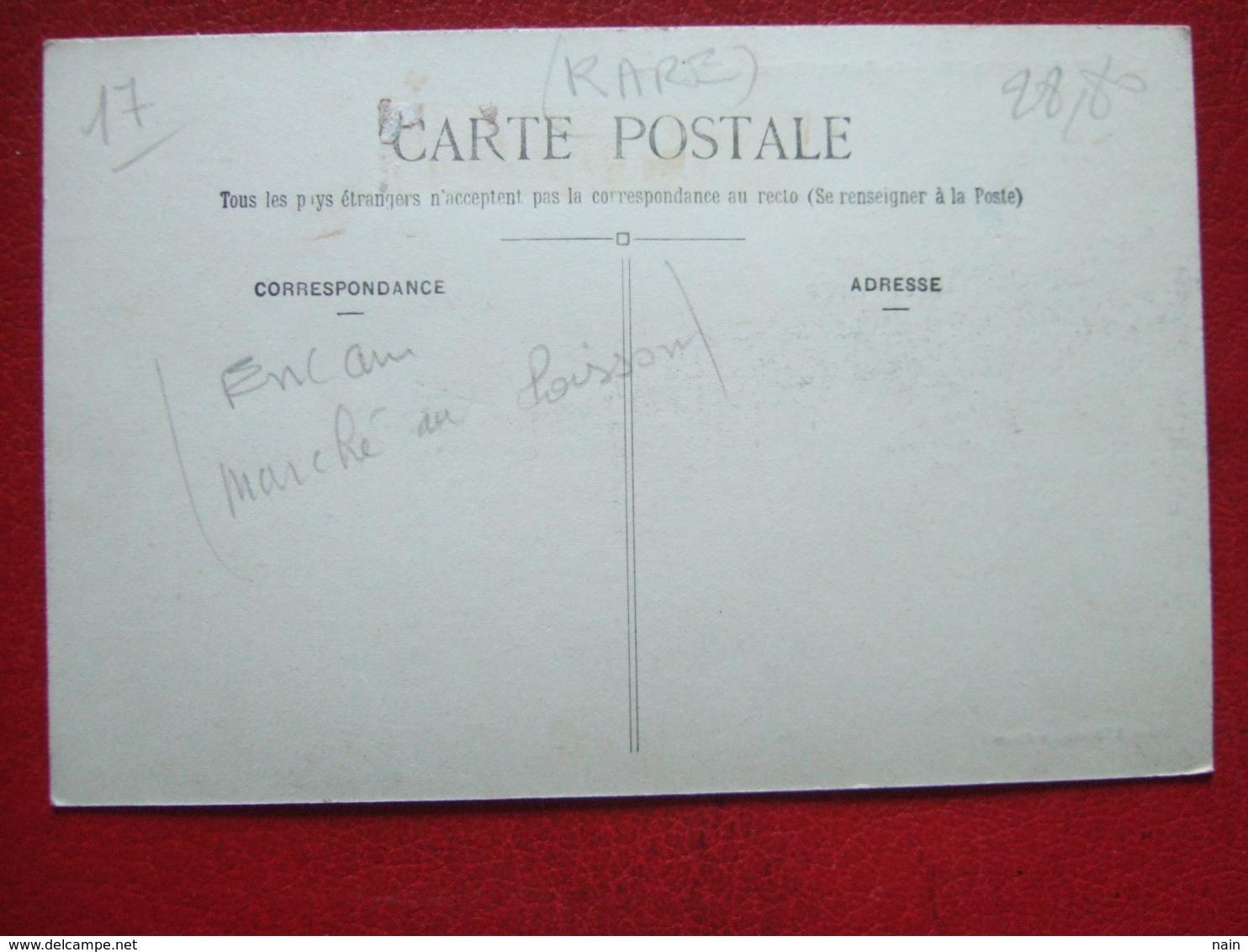 """17 - ILE DE RE - LA FLOTTE - """" LE PORT ET L' ENCANS AUX POISSONS """" - -----   """" TRES RARE  """"  ------- - Ile De Ré"""