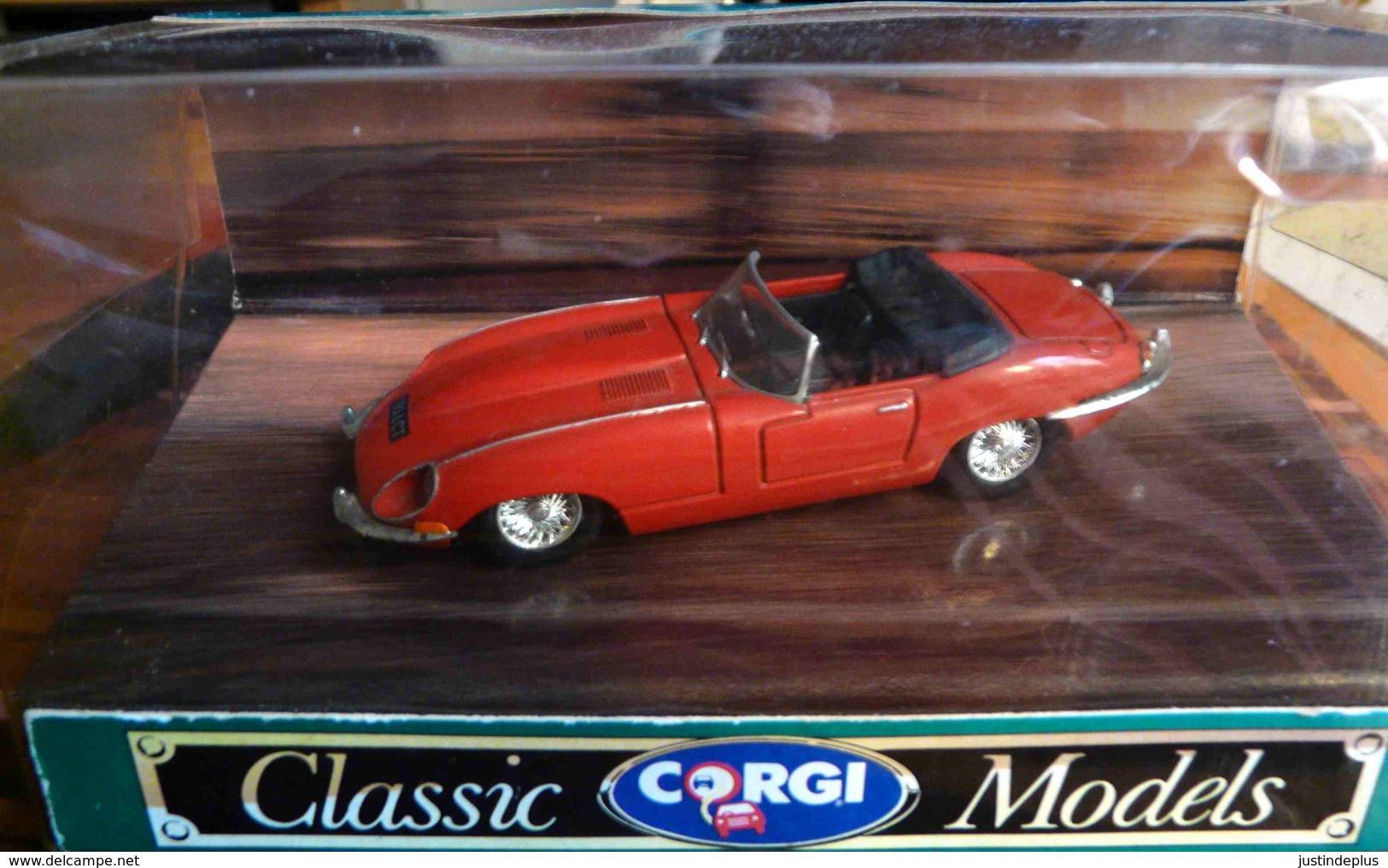 JAGUAR TYPE E OPEN TOP N°96080 CLASSIC CORGI MODEL - Corgi Toys