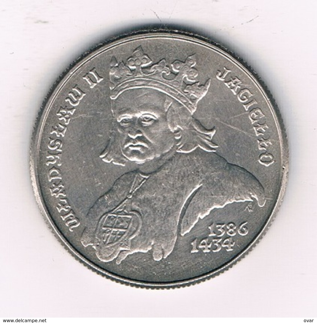 500 ZLOTYCH 1989 POLEN /8783/ - Poland