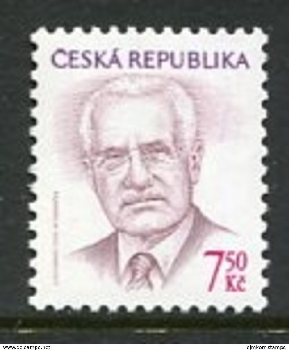 CZECH REPUBLIC 2005 Definitive: President 7.50 Kc. MNH / **. Michel 425 - Tchéquie