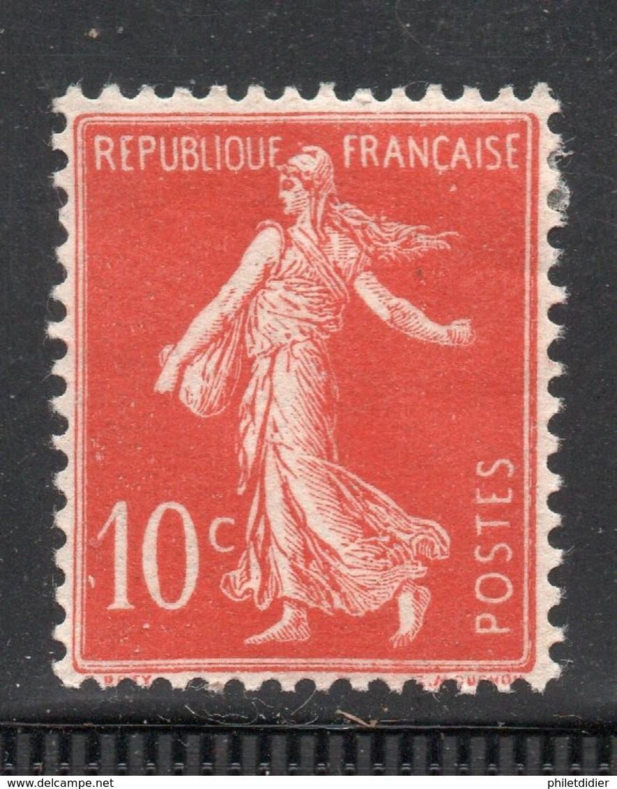 SEMEUSE YT 135 NEUF * COTE 9 € - 1906-38 Semeuse Con Cameo