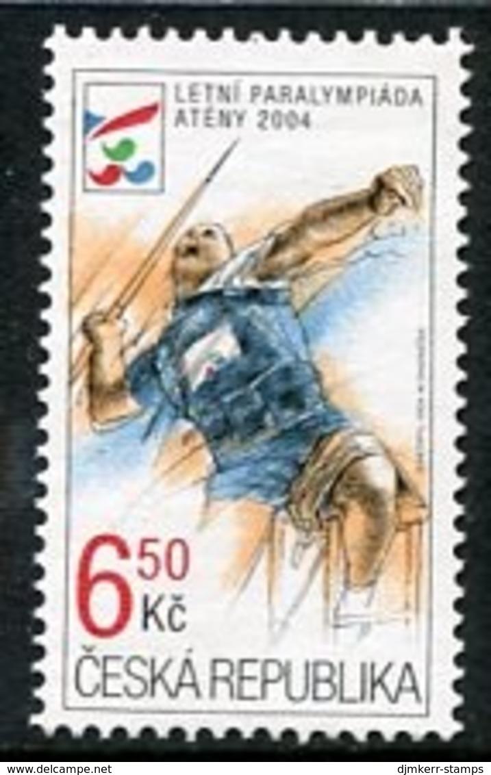 CZECH REPUBLIC 2004 Paralympic Games MNH / **. Michel 405 - Tchéquie