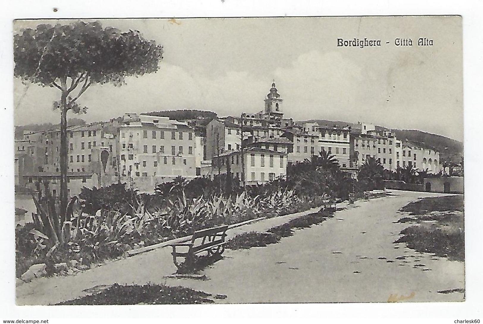 CPA - Italie - Bordighera - Citta Alta - Imperia