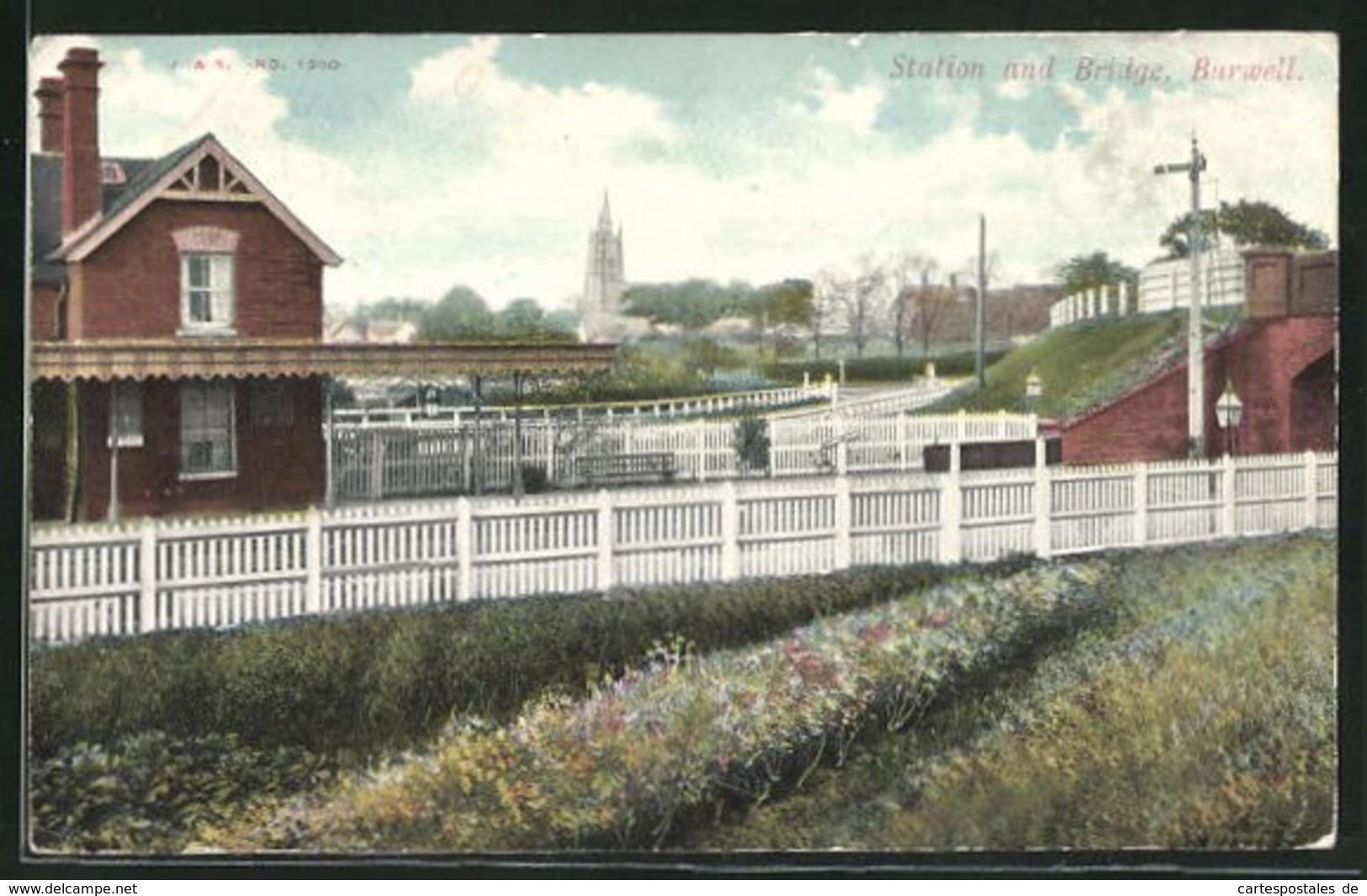 Pc Burwell, Station And Bridge - Non Classés
