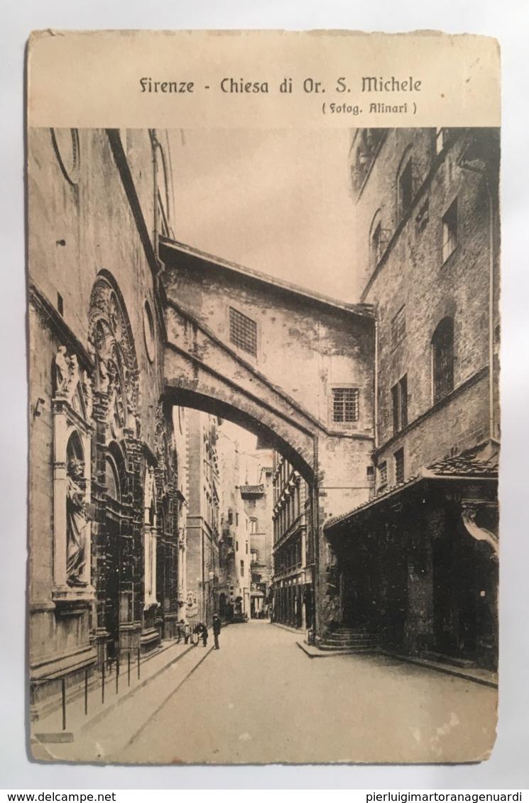 V 10956 Firenze - Chiesa Di Or. S. Michele - Firenze