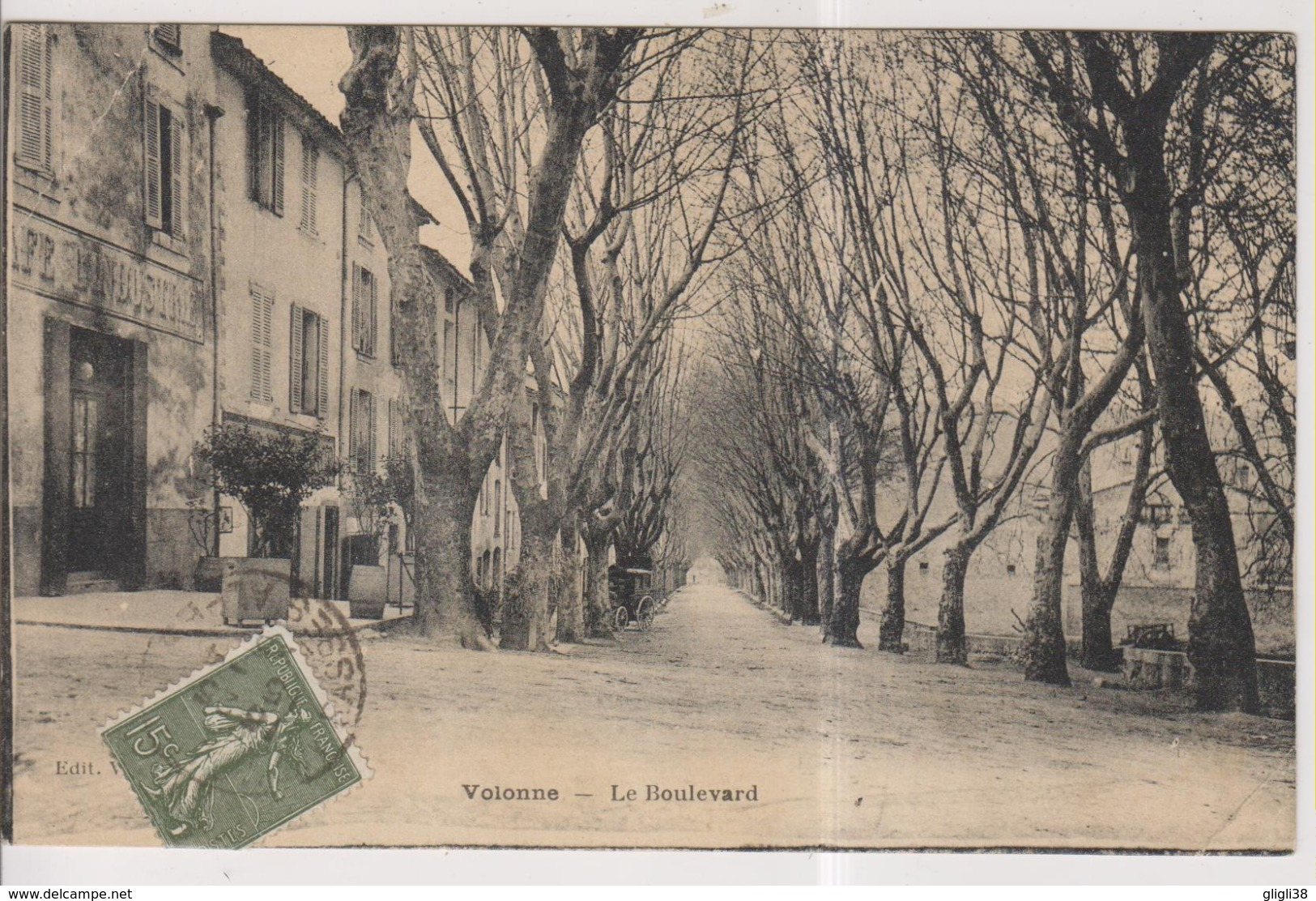CPA-04-Alpes De Haute Provence- VOLONNE- Le Boulevard- - Francia