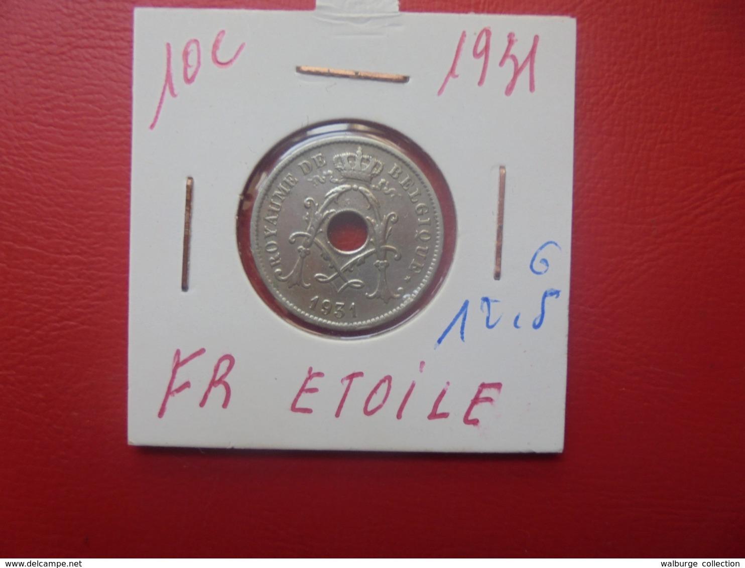 Albert 1er. 10 Centimes 1931 FR (A.2) - 04. 10 Centimes