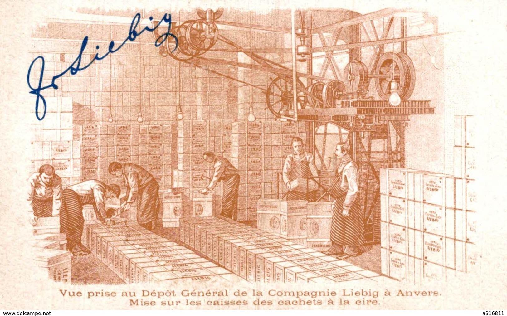 (Chromos) 053, Liebig, Nos Aïeules - Liebig