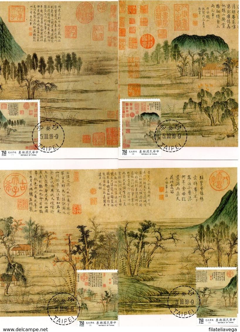 China 4 Tarjeta Máxima (Maximum Cards) - Cartas