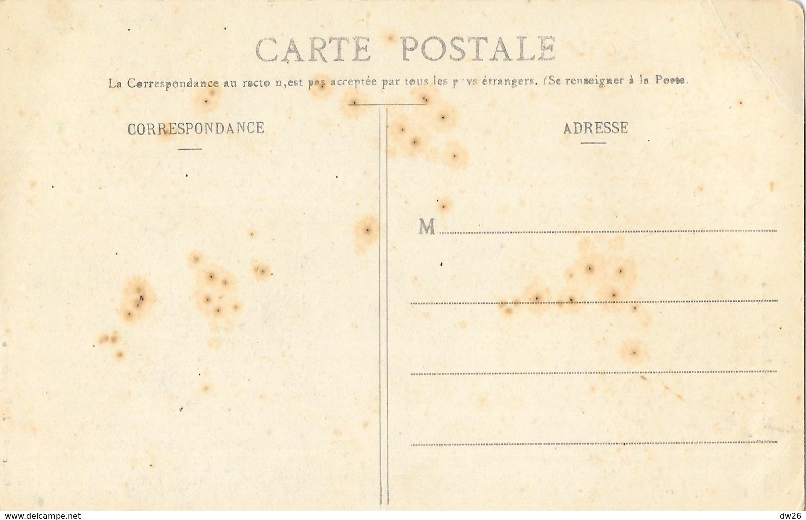 La Louvesc (Ardèche) La Rue Principale, L'Eglise, Fabrique De Chapelets - Collection C.J. Carte Non Circulée - La Louvesc