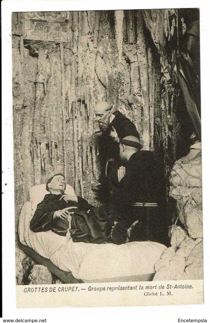 CPA-Carte Postale-Belgique-Crupey- Grotte-La Mort De St Antoine--VM9317 - Assesse