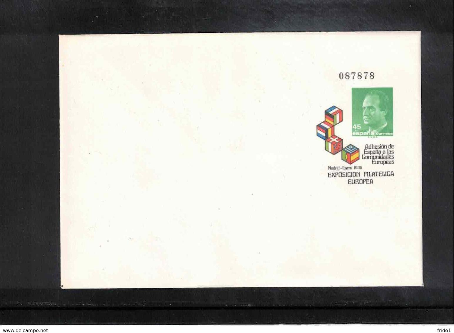 Spain1986 Interesting Postal Stationery Letter - 1931-....