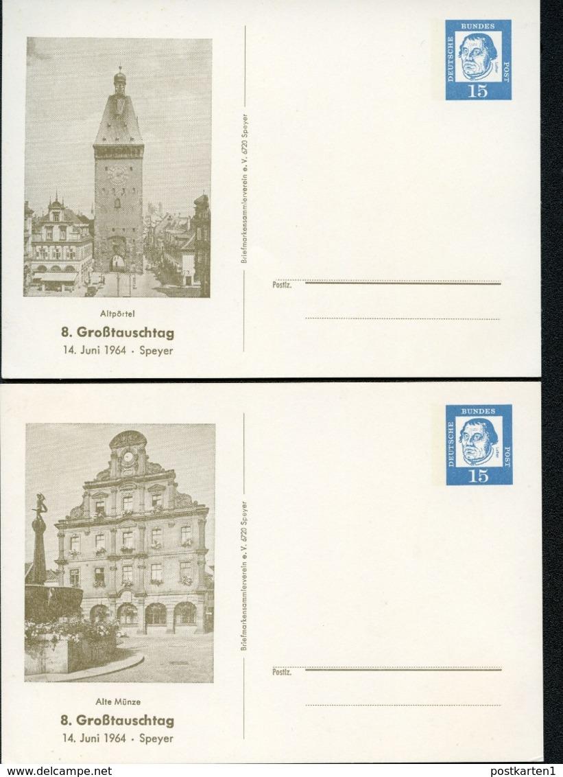 SPEYER: ALTPÖRTEL + ALTE MÜNZE 1964 Bund PP29 D2/008 NGK 14,00 € - Architektur