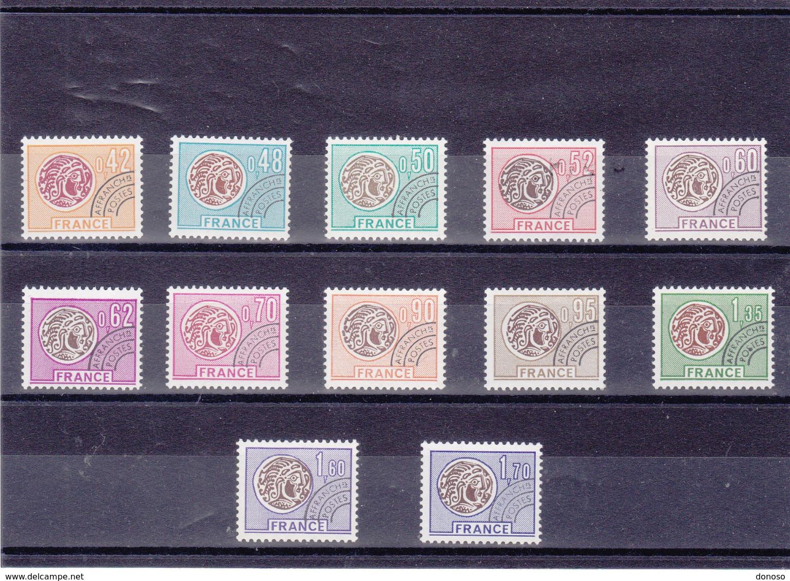 FRANCE 1975-1976 Préoblitérés Yvert 134-145 NEUFS** MNH Cote : 22 Euros - Vorausentwertungen