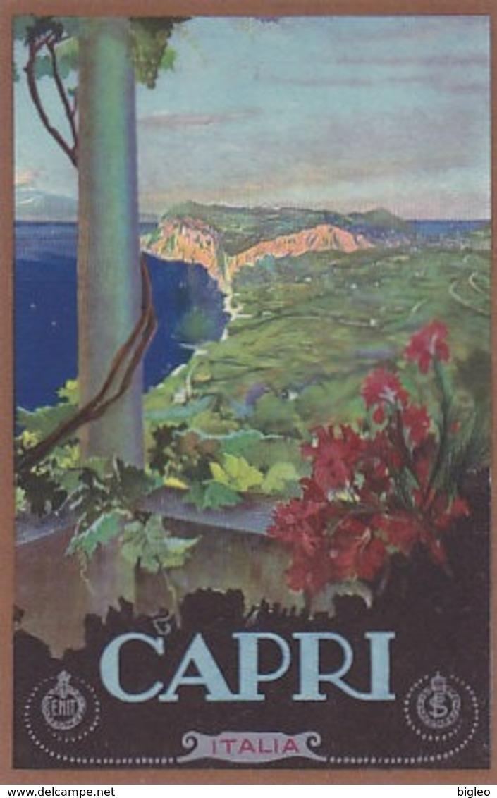Capri - Cart.pubbl.ENIT          (A-136-190504) - Italia