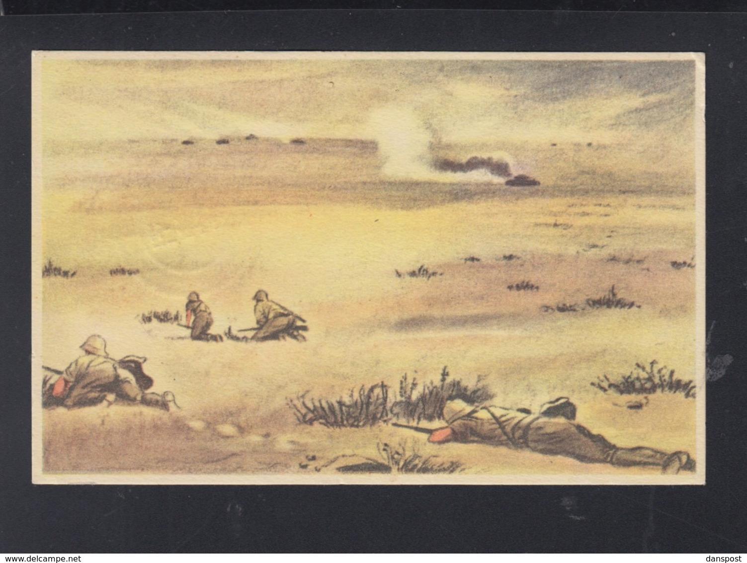 Dt. Reich PK Afrika Corps 1943 - Guerra 1939-45