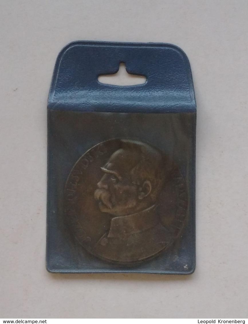 Poland Pologne Medal Medaille Marshal Maréchal Jozef Pilsudski - Autres