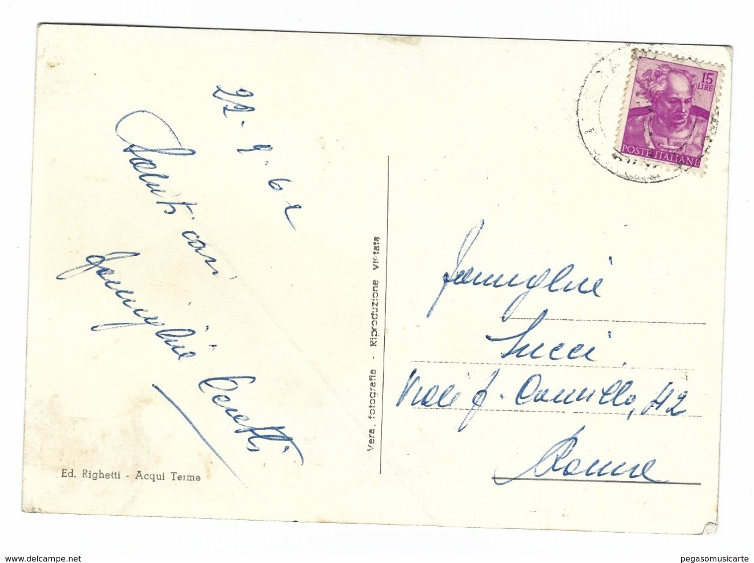 1341 - ROCCAVERANO ASTI PANORAMA 1962 - Asti