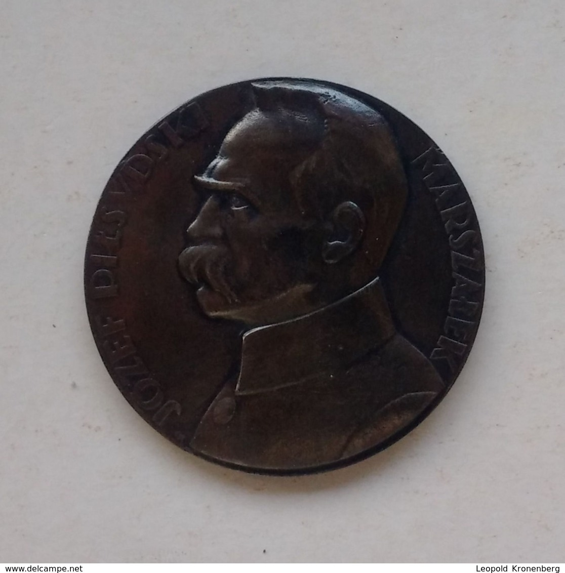 Poland Pologne Medal Medaille Marshal Maréchal Jozef Pilsudski 2 - Jetons & Médailles