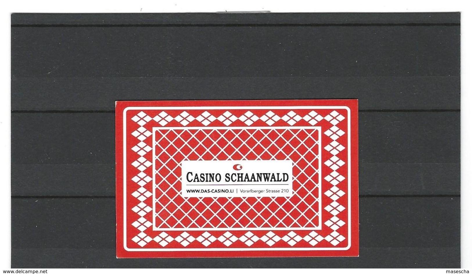 Casino Schaanwald Liechtenstein, Gutschein Für Ein Getränk  ( 1 - Documentos Antiguos