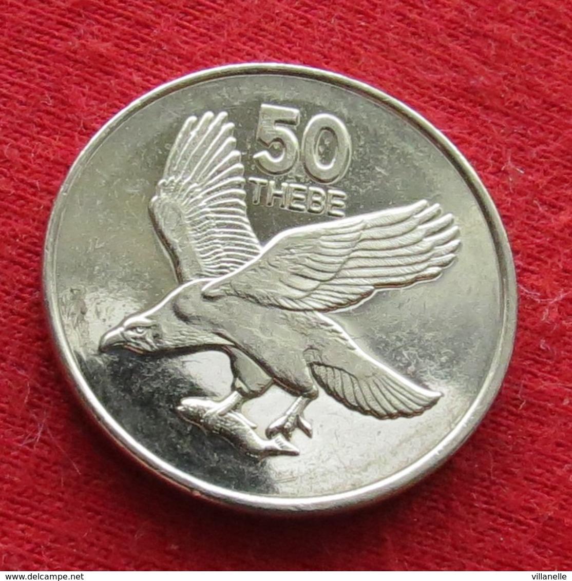 Botswana 50 Thebe 1998 KM# 29  *V2  Botsuana - Botswana