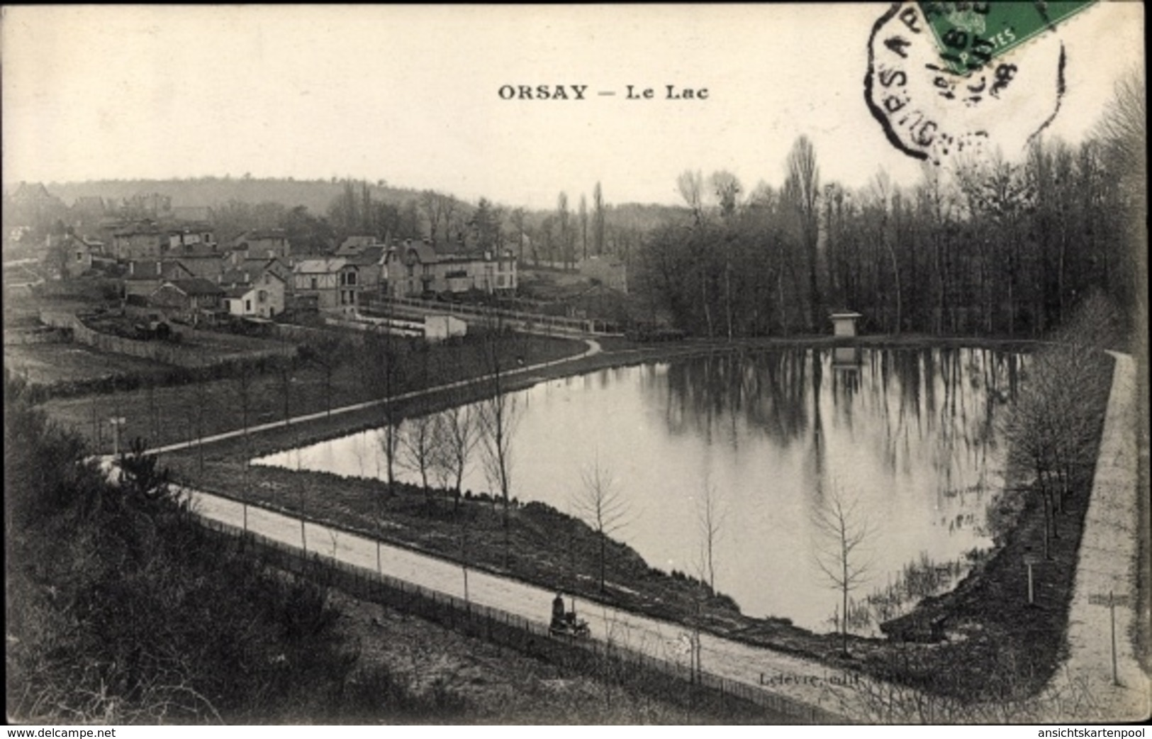 Cp Orsay Essonne, Le Lac - France