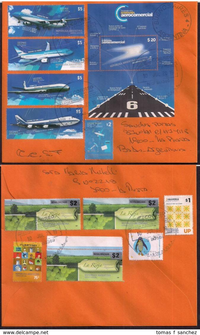 Argentina - 2019 - Lettre - Aviation Commerciale - Argentinien