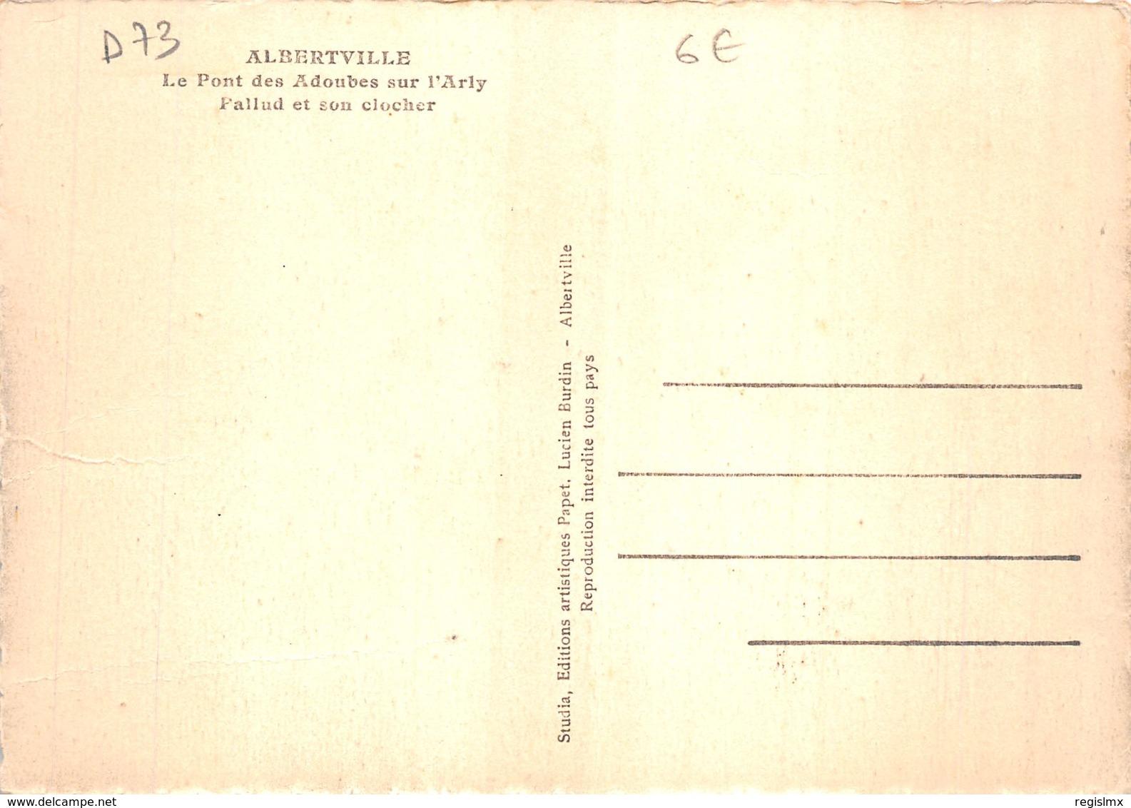 73-ALBERTVILLE-N°T1093-D/0203 - Albertville