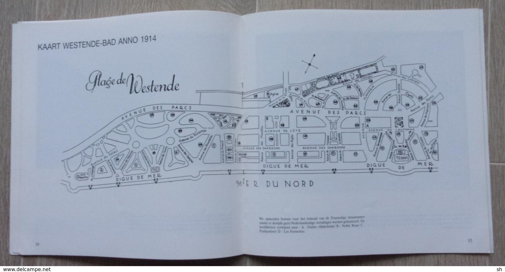 WESTENDE - MIDDELKERKE - De Zeedijk Van Westende Voor 1914 Belle époque - Marc Constandt - 1990 - Libros, Revistas, Cómics