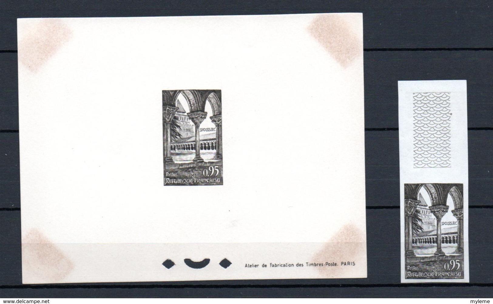 Carton Dont France Dont N° Bloc N° 5**+ 841b** + Lettre 841 + 4 épreuves De Luxe + Timbres ND ** ...Voir Comm !!! - Timbres