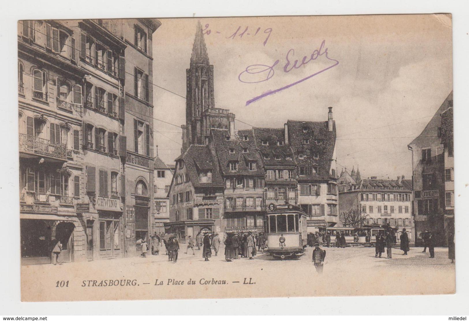 AC168 - STRASBOURG - La Place Du Corbeau - Tramway - Strasbourg