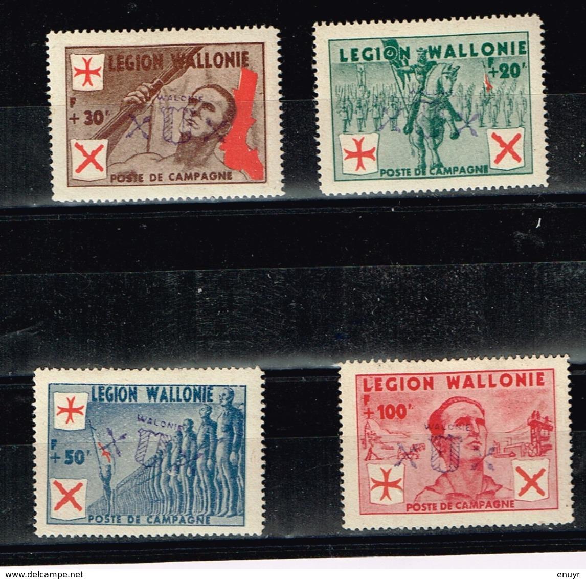 Légion Wallonie Feldpost - Stamps