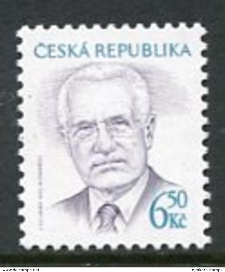 CZECH REPUBLIC 2003 President Definitive 6.500 Kc MNH / **.  Michel 381 - Tchéquie