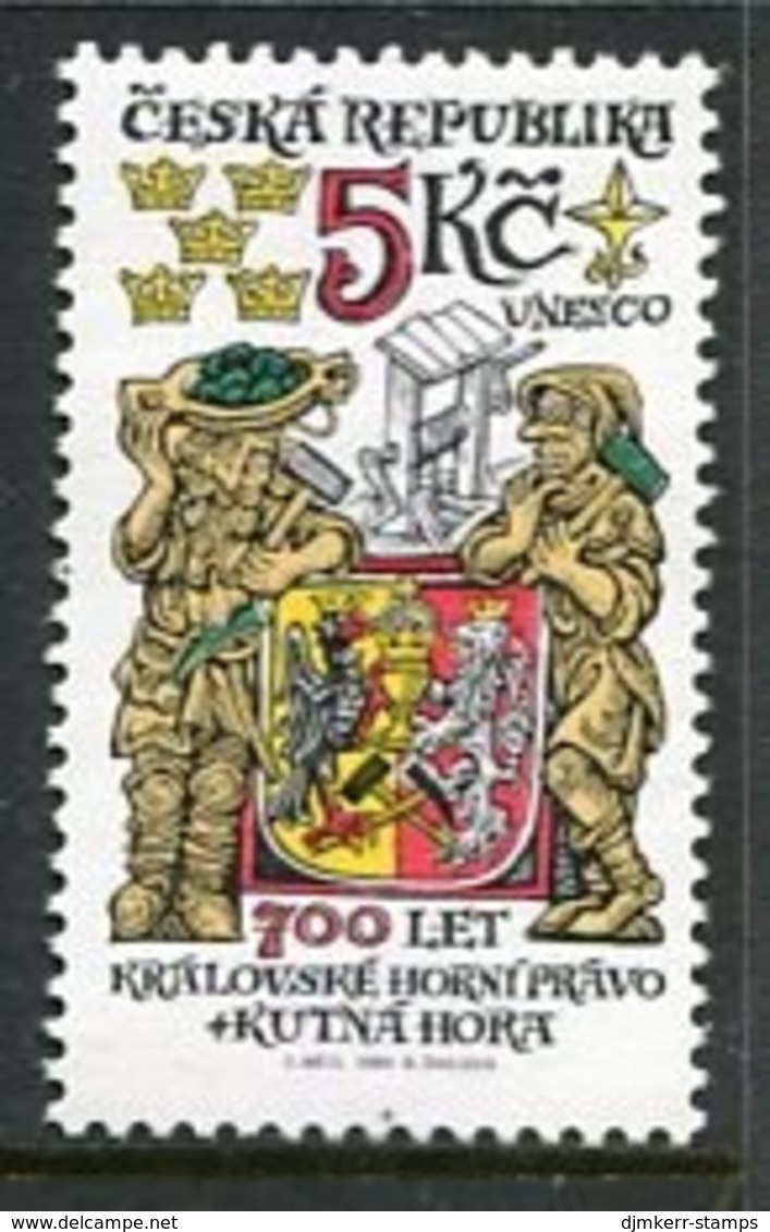 CZECH REPUBLIC 2000 Royal Mining Rights MNH / **.  Michel 245 - Repubblica Ceca