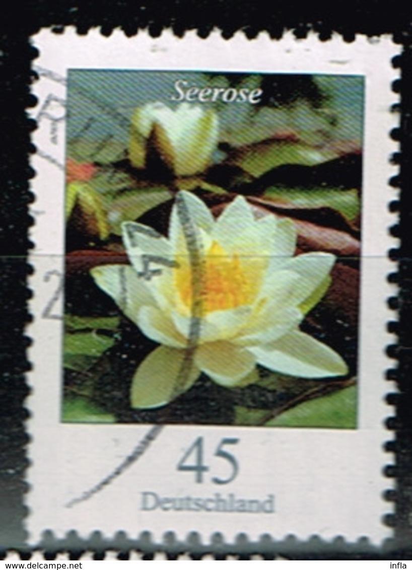 Bund 2017, Michel# 3303o Blumen: Seerose - [7] Federal Republic