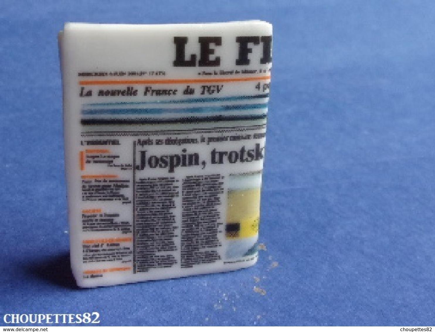 Fèves Fève Publicitaire HORS SERIE Magazine Revue Le Figaro*333* - Otros