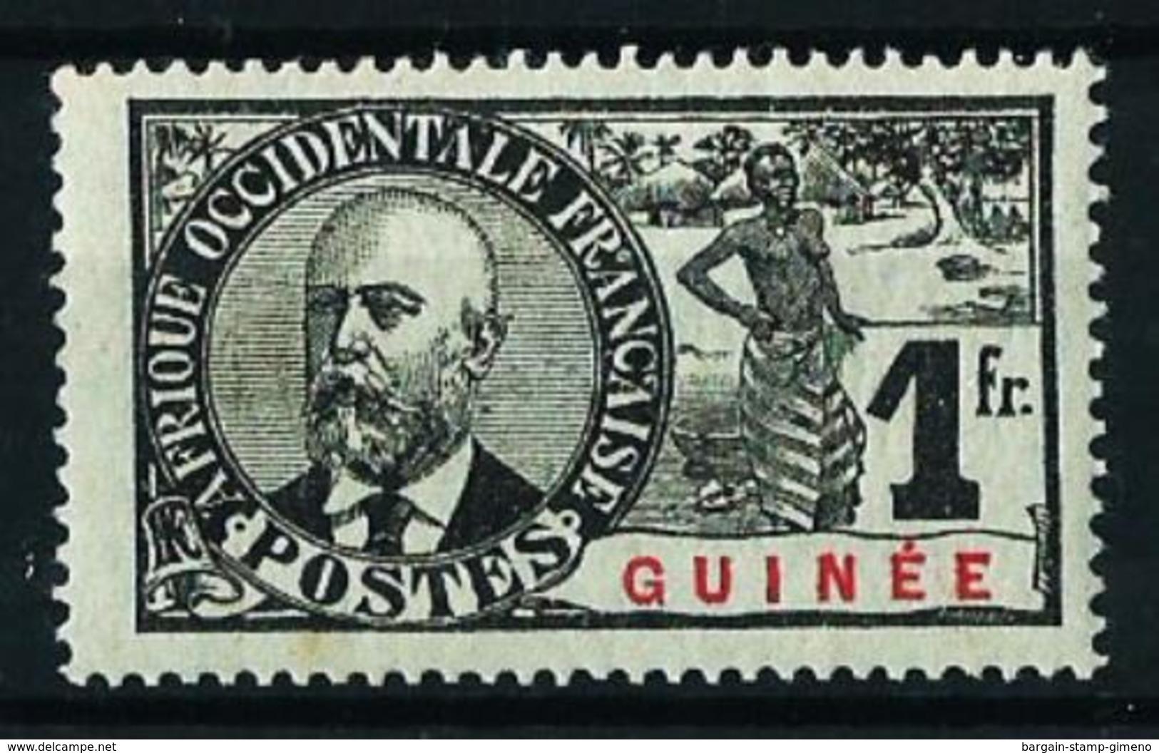 Guinea (Francesa) Nº 45 Nuevo* Cat.25€ - Guinea Francesa (1892-1944)