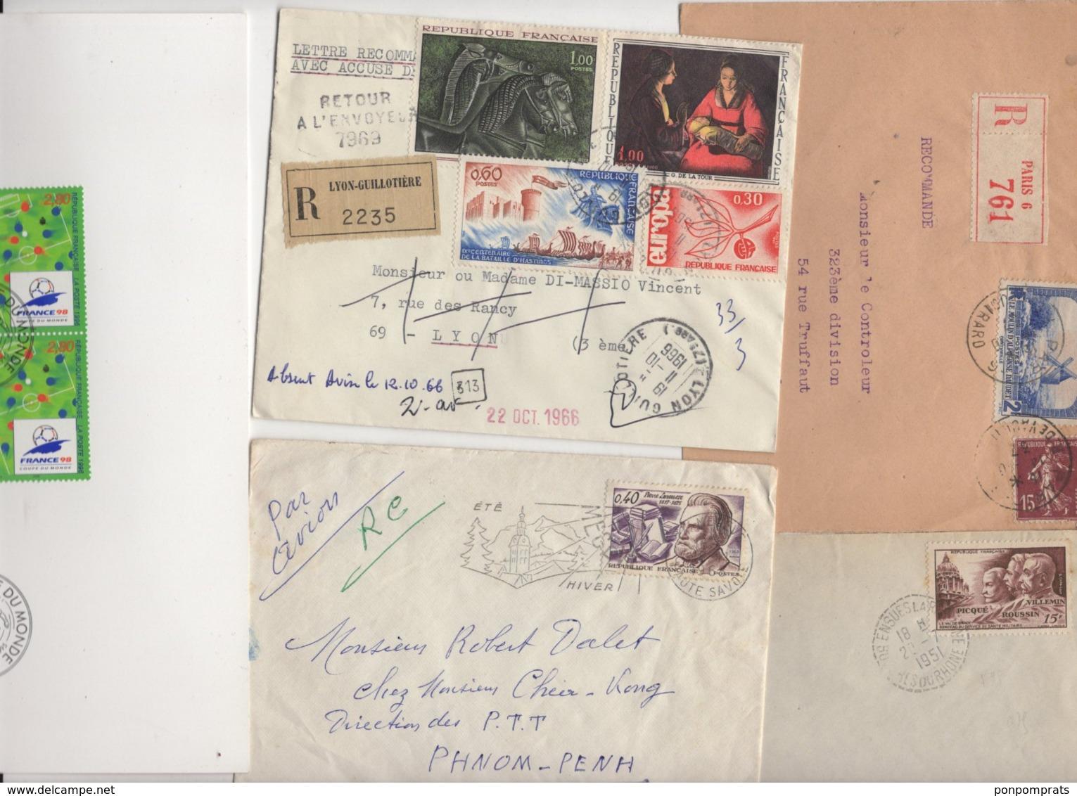 10 Lettres Et Cartes + 1 Cadeau Prix De Départ Sans Réserve 1€ Voir 2 Scan.  Bonnes Enchère             Lot Delc N°3, 2° - 1921-1960: Période Moderne