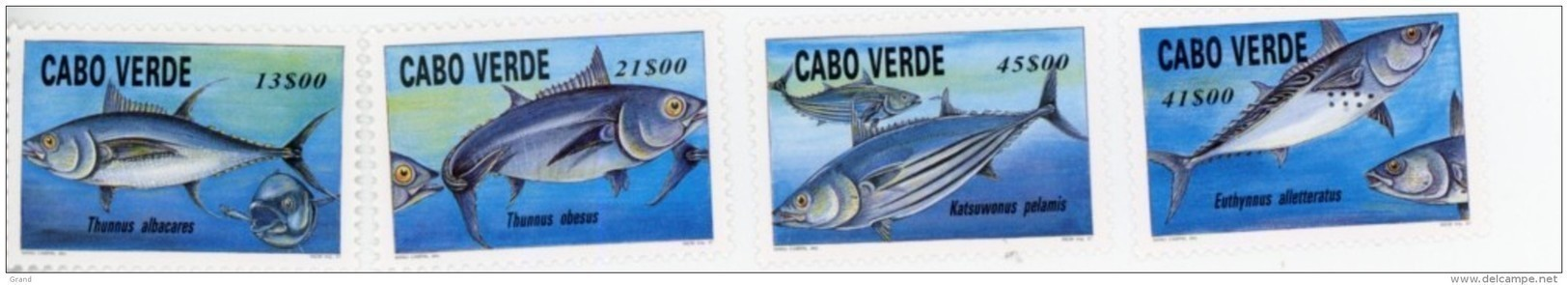 Cap Vert-Cabo Verde-1997-Poisson, Thon,-707/10***MNH - Fische