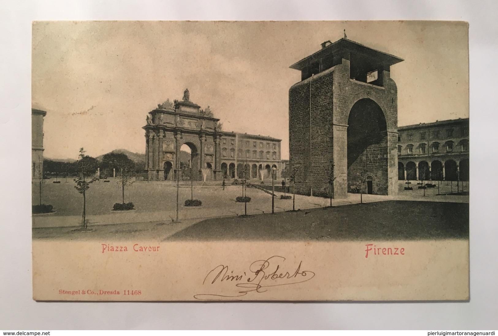 V 11042 Firenze - Piazza Cavour - Firenze